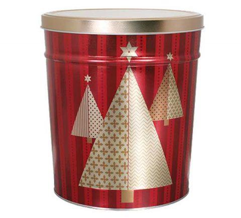 Tree Oh popcorn tin by Colby Ridge