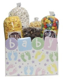 baby popcorn box assortment