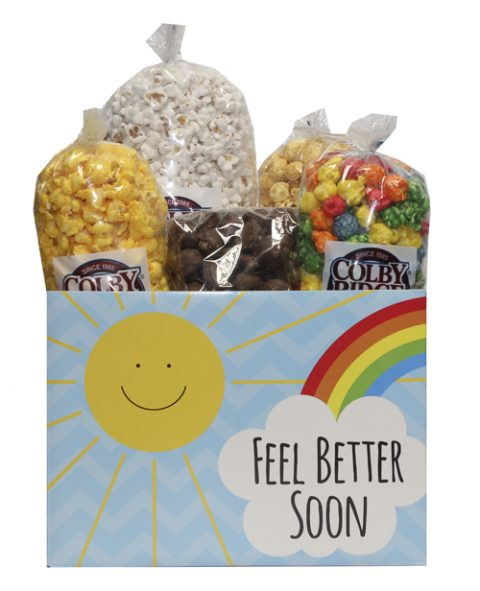 feel better soon popcorn box assortment