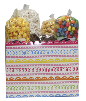 sweet swirls popcorn box assortment
