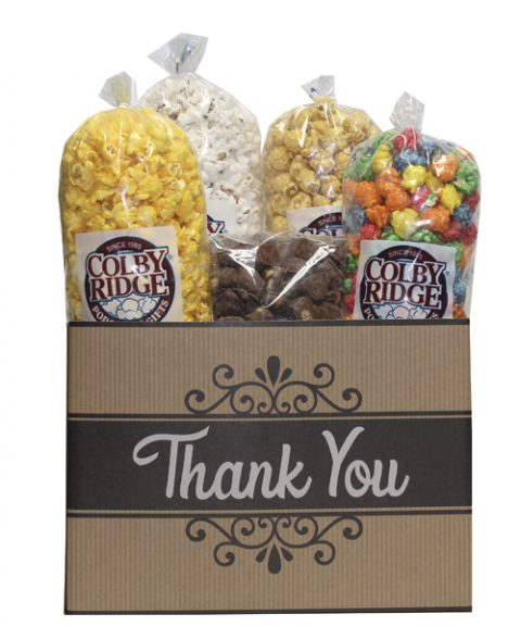 thank you popcorn box assortment