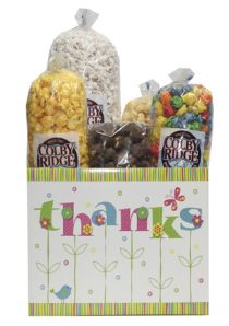 thanks flowers popcorn box assortment