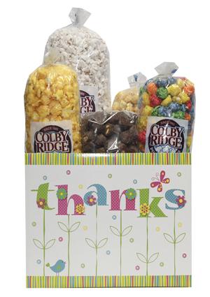 thanks flowers popcorn box assortment