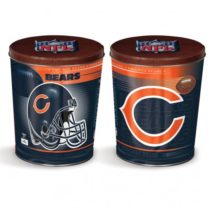 chicago bears popcorn canister