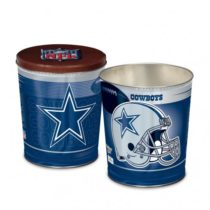 dallas cowboys popcorn canister