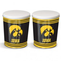 iowa hawkeyes popcorn canister