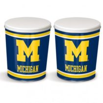 Michigan popcorn tin from colby ridge