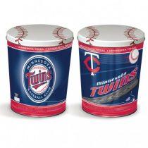 minnesota twins popcorn canister