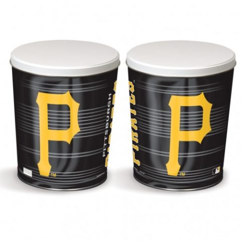 pittsburgh pirates popcorn canister