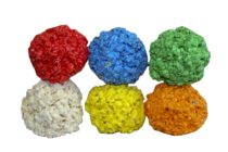 colorful popcorn balls