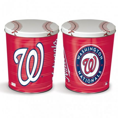 Washington Nationals popcorn canister from colby ridge