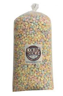 pastel popcorn party bag