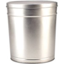 large platinum popcorn canister from colby ridge