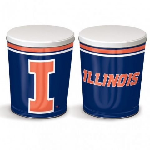 Illinois popcorn canister from colby ridge