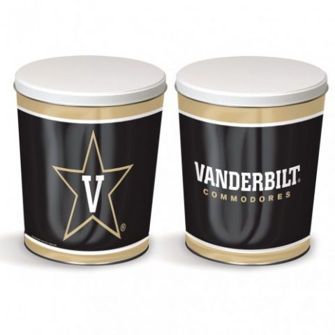 Vanderbilt Commodores popcorn canister from colby ridge