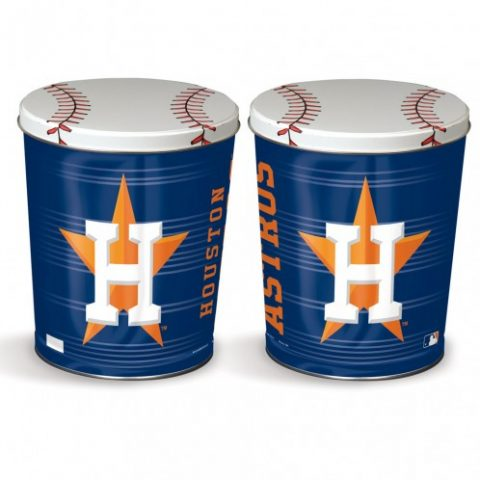 houston astros popcorn canister