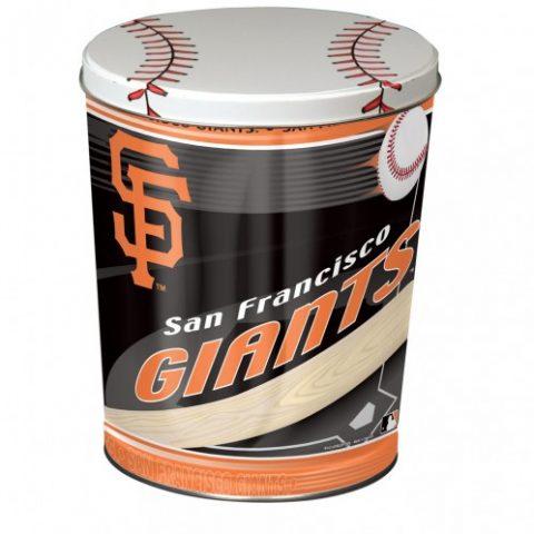 san francisco giants popcorn canister