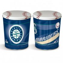 seattle mariners popcorn canister