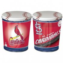 st. louis cardinals popcorn canister