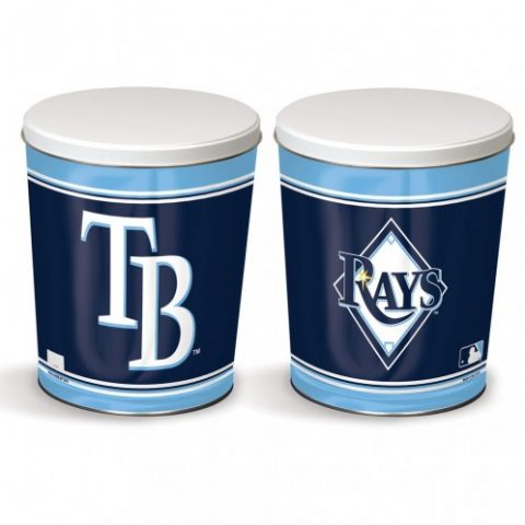tampa blue rays popcorn canister