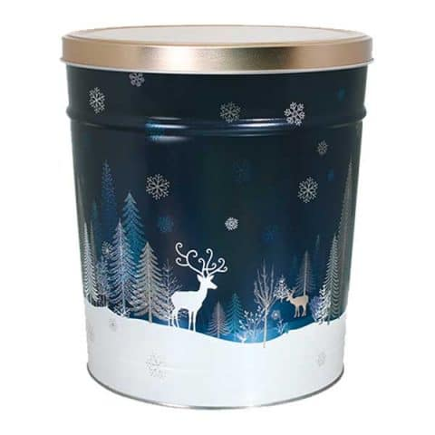 crystal evening popcorn canister