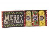 merry christmas popcorn gift pack